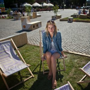 Larysa Sałamacha, fot. Renata Dąbrowska