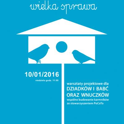 Budowanie karmników dla ptaków – rodzinne warsztaty w IKM