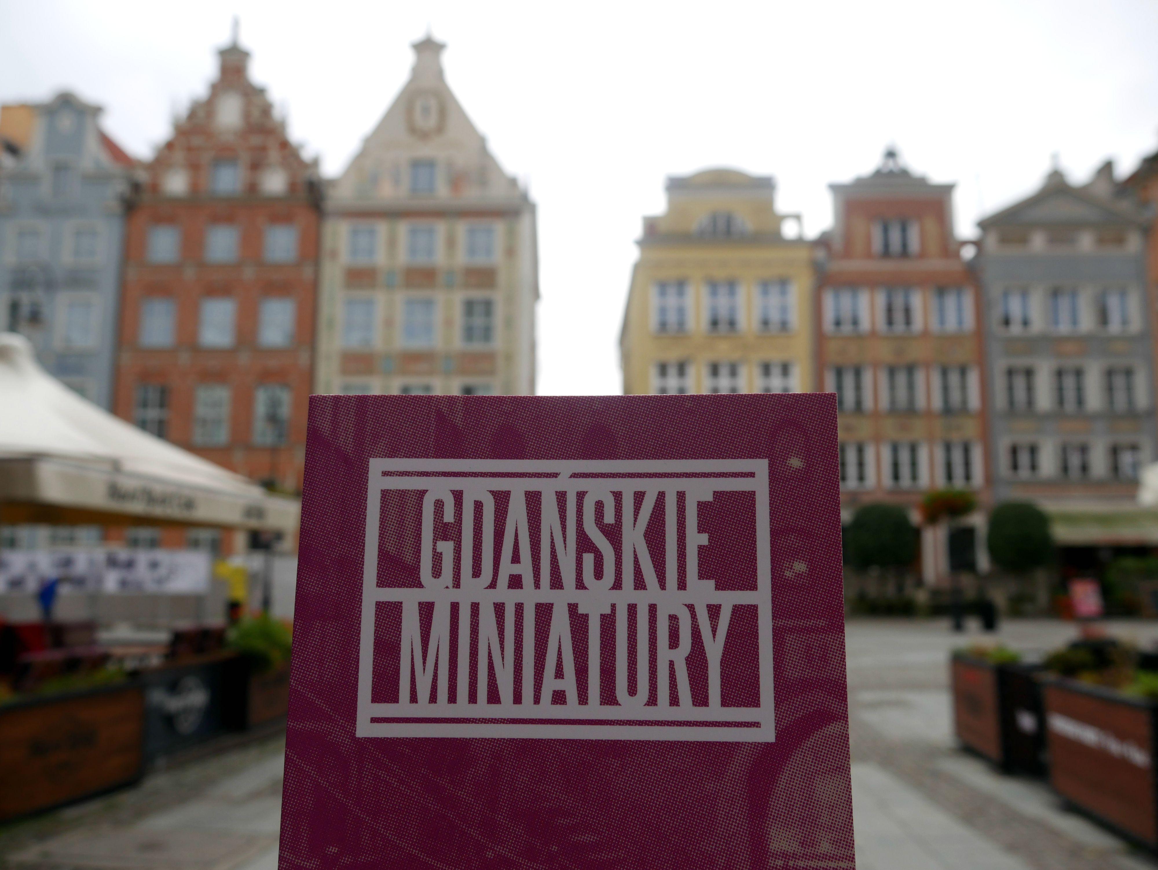 Książka Gdańskie Miniatur