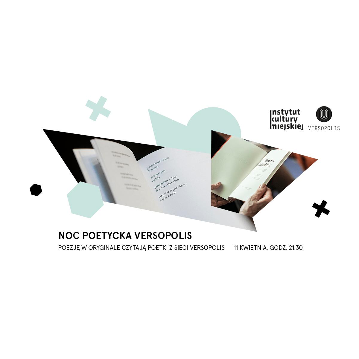 Instytut Kultury Miejskiejnoc Poetycka Versopolis