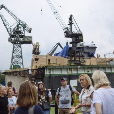 WOMEN'S ROUTES IN GDANSK SHIPYARD