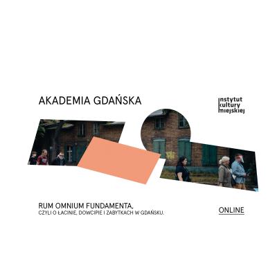 Akademia Gdańska. Cykl miejskich wykładów historycznych