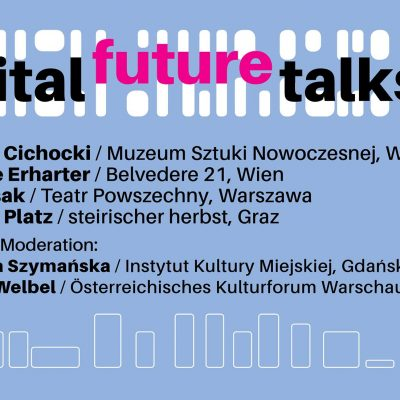 Digital Future Talk: Przyszłość instytucji kultury – strategie, trendy, plany