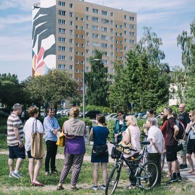 Экскурсии с местной гидессой по галерее муралов на Заспе на русском языке